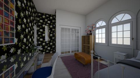 my home bedroom design - Bedroom  - by Sophiasstudio