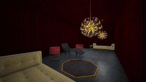 Throne Room - Vintage - Living room  - by Scooteradventuregirl