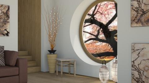Round Window - Global - Living room  - by millerfam