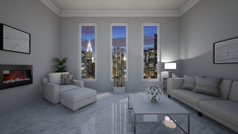 Minimalist - Living room  - by VeroDale