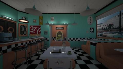 Cozy Restaurant - Vintage - Dining room  - by Brubs Schmitt