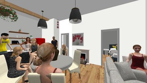 14 J Rd - Living room  - by BoldaNZ