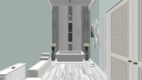 COUNTRY  WOOD - Country - Bathroom  - by decordiva1