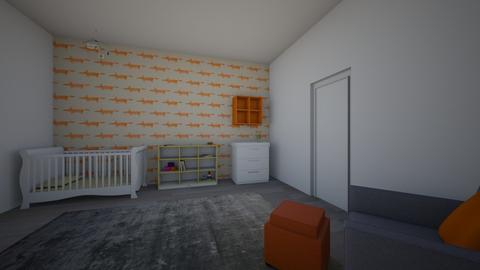 Kids Bedroom 1 - Kids room - by Poey