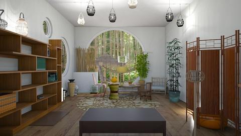BAMBOO - Living room  - by Babybluewolfboo
