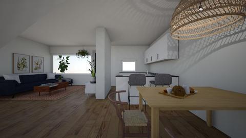 Liraz 23 - Living room  - by erlichroni