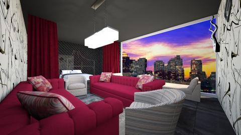 maxmalist bedroom - Bedroom - by brookewilson