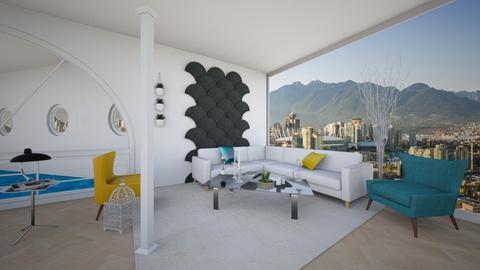 Columns Living Room 3 - Minimal - Living room  - by yaizalloriginal