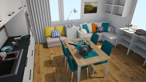 Salon 3 - Minimal - Living room  - by aste44