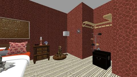 dhaekgfkjsdzx - Bedroom  - by Sarah Paul
