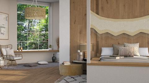 Wooden Bedroom - by ItsKalaniOfficial