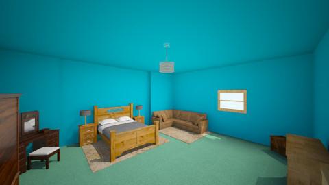 Gabrielles room - Rustic - Bedroom  - by Trooper 601