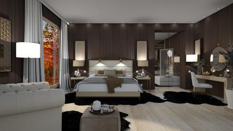 Central Park Bedroom - Modern - Bedroom  - by Claudia Correia