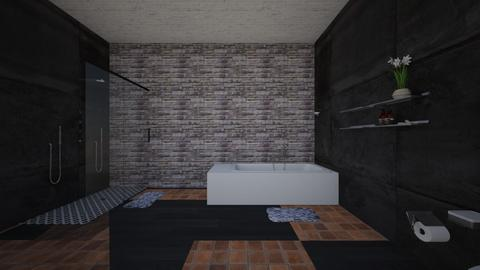vars bathroom 2 - Living room - by varshitha