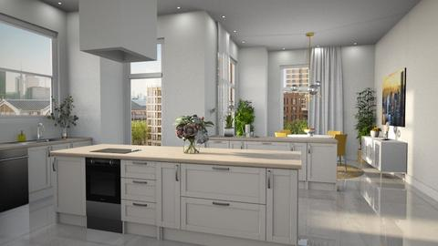 Park Lane - Modern - Kitchen  - by Claudia Correia