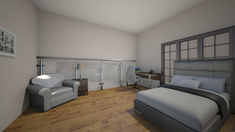 Modern Glass Hotel Room - Modern - Office  - by MyFutureHome