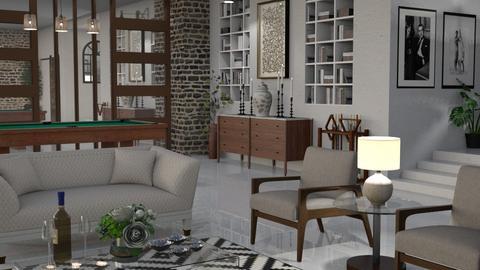 James Bond 007 - Living room  - by bigmama14
