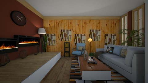 modern living - Retro - Living room  - by kla