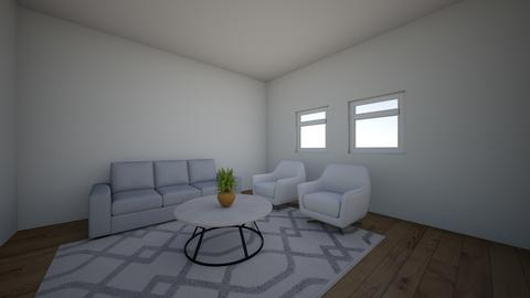 White Living Room - Living room - by ellen_brooklyn