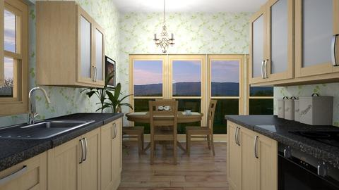 farmhouse kitchen - Country - Kitchen  - by housekeeper17
