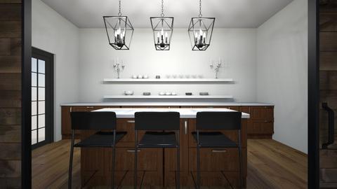 Wood Metal Kitchen - Kitchen - by Georgiaandres