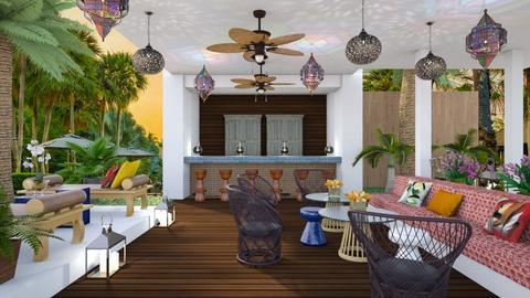 Mario Tropical  - Modern - Garden - by 3rdfloor