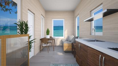 tiny house in Destin - Living room - by EvelynErick