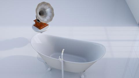 Classical bath - Minimal - Bathroom - by HenkRetro1960