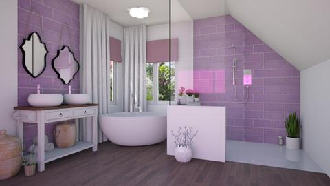 Lavender bath - Bathroom - by Laurika