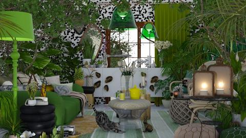 Life is a jungle - Rustic - Living room  - by HenkRetro1960