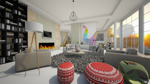 fresh concept - Minimal - Living room  - by Evangeline_The_Unicorn