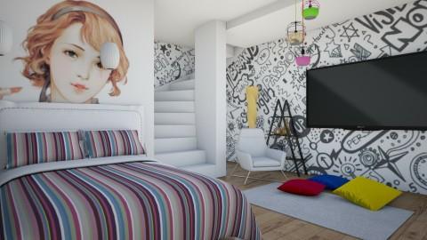 Mini Room - Minimal - Bedroom  - by fifi sefriyani