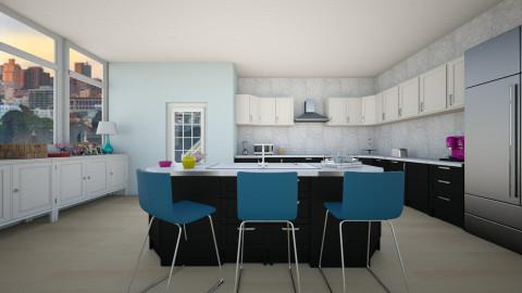 Pastel Blue - Kitchen - by BillyBobJoeJohnPablo