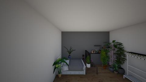 Agdas rum 2021 - Bedroom  - by Agda F