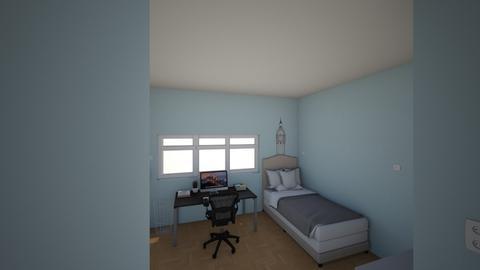 Camera mea - Modern - Bedroom  - by hiimmaria