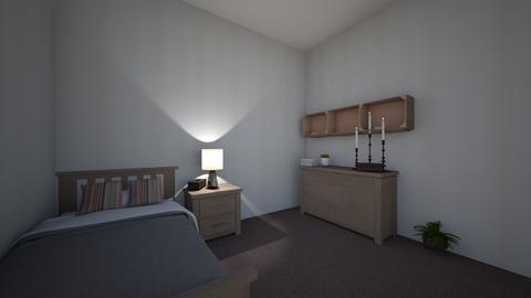 partone bedroom - by tabo_almaeeni