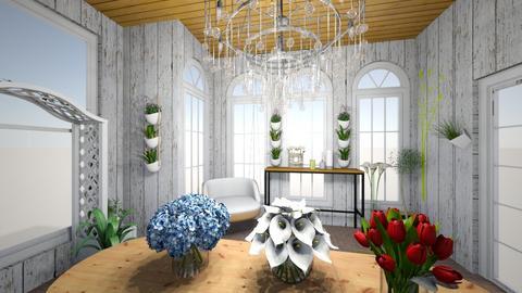 estufa de flores - Garden  - by bruna matos