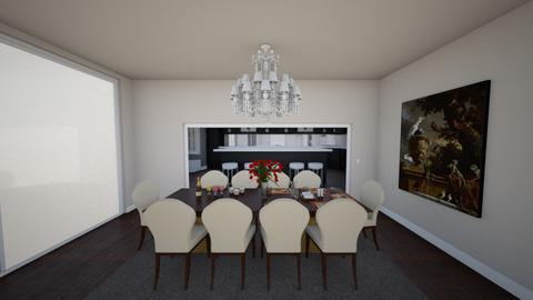 dinin - Dining room  - by raquelz