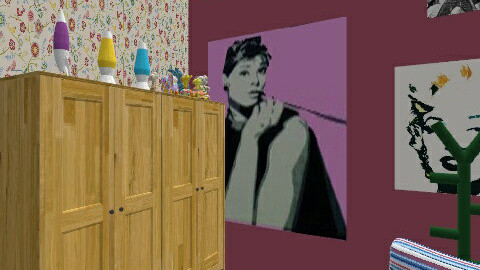 girls and boys rooms - Retro - Bedroom  - by Historyfun