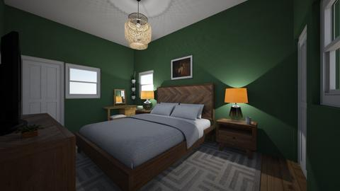Master bedroom - Eclectic - Bedroom  - by kellyhayes729