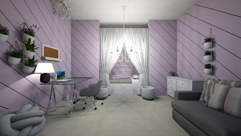 pretty in purple - by Chardesigner