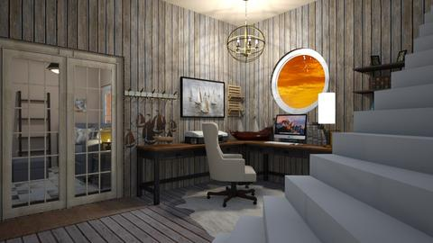 Nautical_Office - Office - by RaeCam