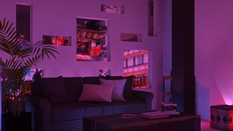 Ultraviolet - Living room  - by Snowy Tiger