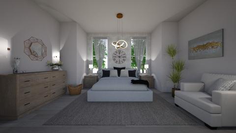 Cozy bedroom - Feminine - Bedroom - by veroval