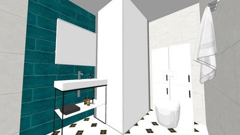 Green Bathroom - Eclectic - Bathroom - by monikayaneva