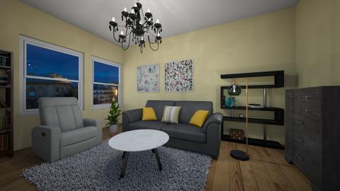 cozy and comfy - Minimal - Living room  - by sonakshirawat175