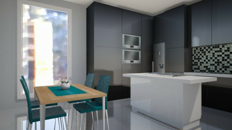 mkah - Modern - Kitchen  - by mrrhoads23