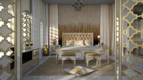 Casablanca gold - Bedroom  - by thatspeachy767