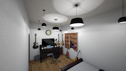 V6 Boys Room 6mx3m - Bedroom  - by tedyhenra