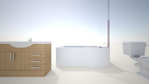 existing bathroom - Bathroom  - by dorrenrut